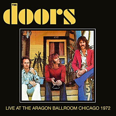 RVCD2041  sc 1 st  Obiterdictum Limited & THE DOORS - Live At The Aragon Ballroom Chicago 1972 (CD)