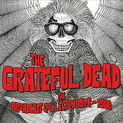 the grateful dead the broadcast collection 1976 1980 12cd box. Black Bedroom Furniture Sets. Home Design Ideas